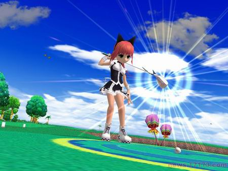日服 魔法飞球 女角色可爱猫装公开