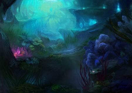 原画曝光《传奇世界》海底新版开放倒计时