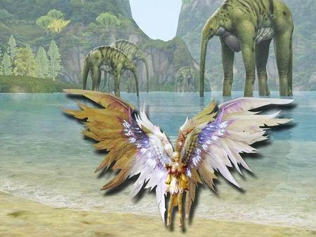 """永恒之塔""""龙战前传"""" 时装翅膀争奇斗艳"""