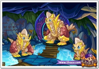 洛克王国的三种龙系宠物