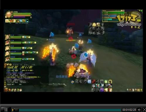 巫师之怒台服副本视频:火焰之心