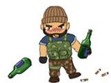 CF搞笑四格漫画系列之《喝酒记》