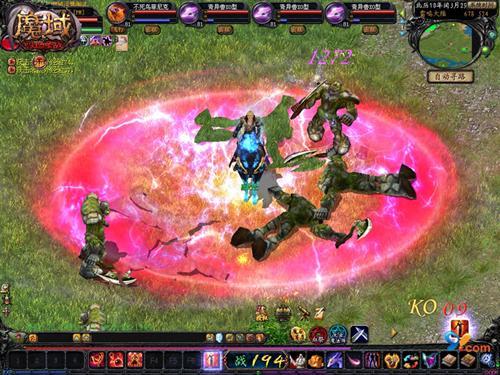 《魔域》血舞影煞技能  《魔域》幻兽是玩家的宠物、战友...