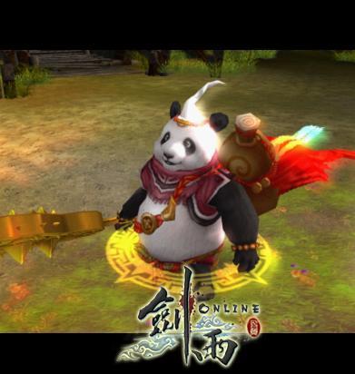 《剑雨ol》——憨厚可爱的熊猫酒仙
