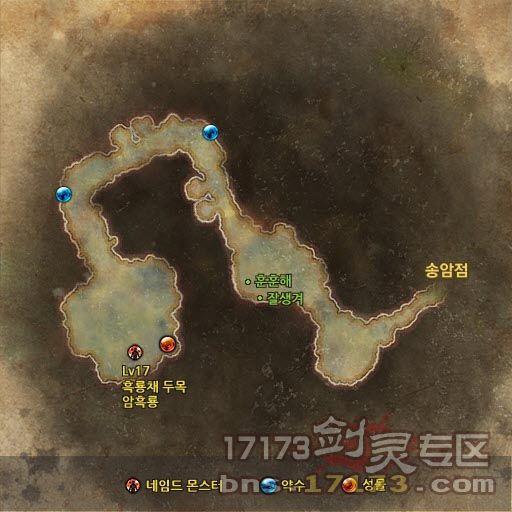 剑灵副本地图