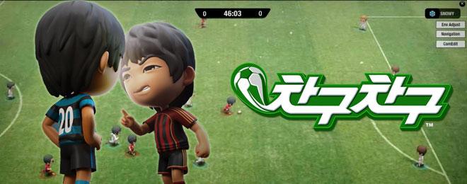 游戏介绍:《踢球踢球》是韩国anipark公司开发的一款