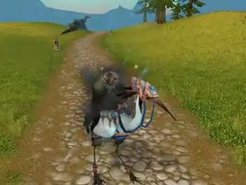仙鹤坐骑展示_wow视频站