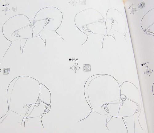 接吻怎么画简笔画