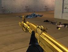 高贵冷艳的纯金AK惊现穿越火线体验服