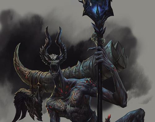 暗黑3玩家作品:我心中的小恶魔