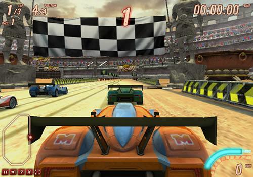 原创专题 盘点那些最好玩的赛车小游戏  游戏简介 驾驶你的赛车在跑道
