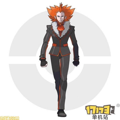 zooskool兽x人-口袋妖怪 关键人物 游戏