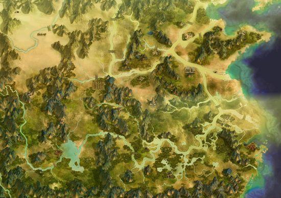 《天之痕》大地图图片