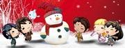 """《轩辕剑6》""""圣诞&元旦""""节日壁纸设计活动"""