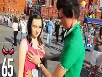 俄罗斯帅哥街头摸1000位美女的胸部![hdmv.cc