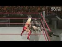 女子摔跤之要害攻击各种爆裆技展示 女子摔跤
