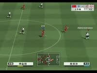 实况足球8网络对战中国VS韩国2011-12-27第