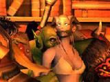 爆笑美漫:悲催的德莱尼NPC被送部落酒吧成舞娘