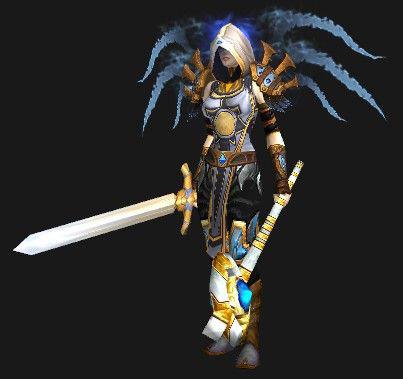 天使与恶魔:魔兽世界5.4牧师专属双阵营幻化