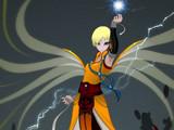 暗黑3玩家作品:水舞乱虹的风影武僧