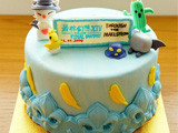 可爱到爆 玩家自制最终幻想14大蛋糕