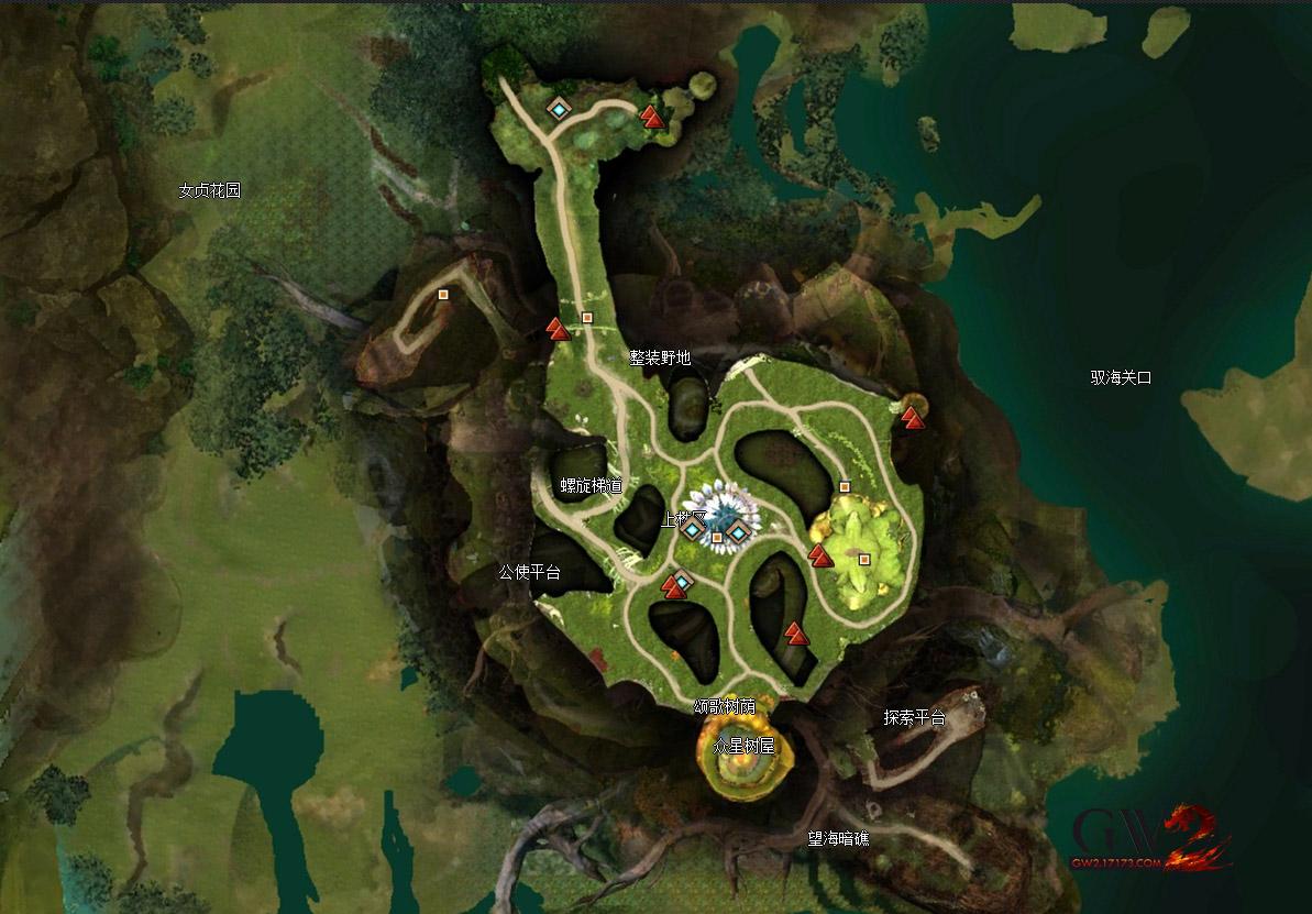 激��2希��瓦里主城圣林之地�^景�c探索�c