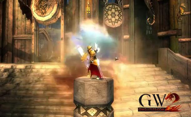《激战2》四风节传奇巨剑永恒特效改进