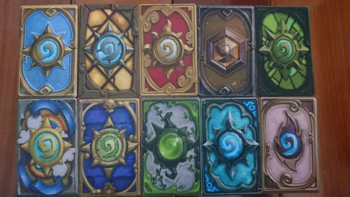 【囧图】玩家自制炉石传说实体卡背