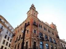 塞维利亚风情老街