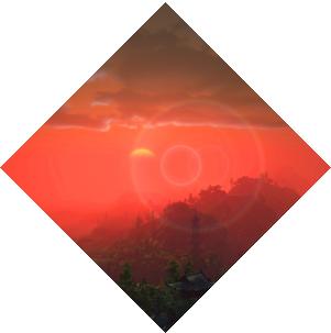 天涯明月刀美景日落黄昏