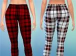 《模拟人生4》MOD  两款格子裤MOD