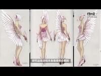 设计师为国服打造性感时装