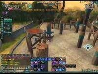 《剑网3》藏剑犀利跳过少林梅花桩视频