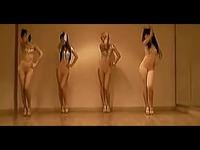 高清视频 超级性感美女组合热舞 游戏视频