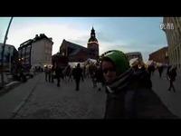 国外小伙创意旅行 1巴掌一个景点-游戏视频图片