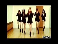 韩国美女舞团waveya性感翻跳 游戏视频