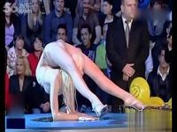 俄罗斯柔术美女 zlata柔术表演