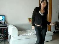 极品紧身裤美女热舞 游戏视频