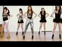 韩国美女waveya热舞 t ara