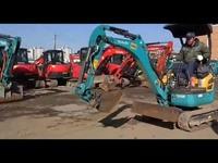 高清视频 大型挖掘机试驾视频表演_01-游戏视