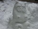 今年你堆雪人了吗?玩家堆出哀木涕及劣人
