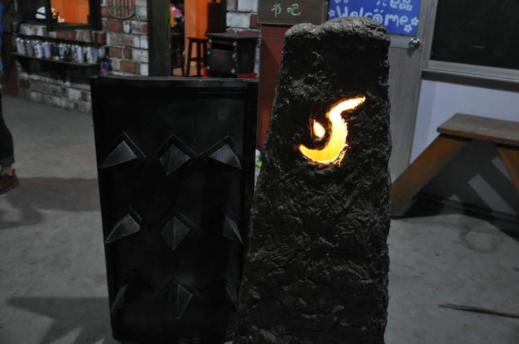 魔兽玩家手工作品:蛋盾、集合石及炉石