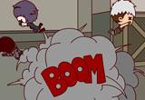 CF搞笑漫画雇佣兵也疯狂本期故事讲述爆炸