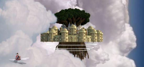 """《我的世界》打造""""天空之城"""" 岛屿神还原"""