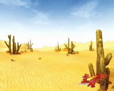 楼兰沙漠 《赤壁》全新场景打造炫目沙海