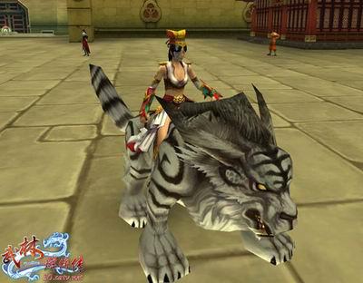 祭坛之虎坐骑-白色