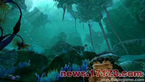 壁纸 海底 海底世界 海洋馆 水族馆 游戏截图 500_282