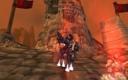 魔兽世界新截图:死亡战马和无头骑士
